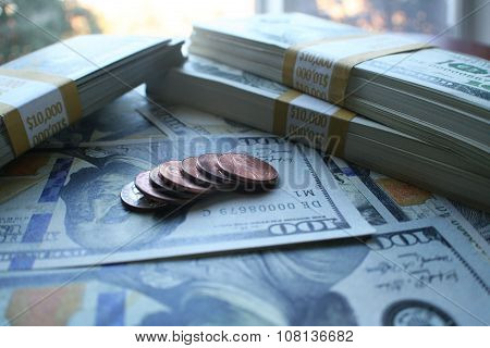 Finance close up stock photo high quality