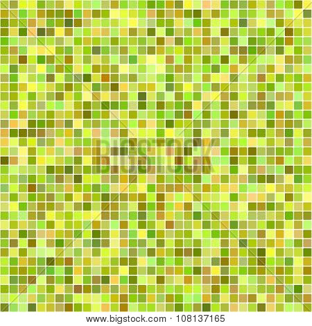 Autumn color pixel mosaic background