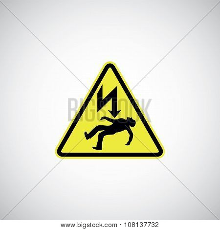 Electrocution Risk Sign