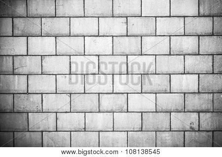 High Resolution Gray Cream Brick Wall Texture