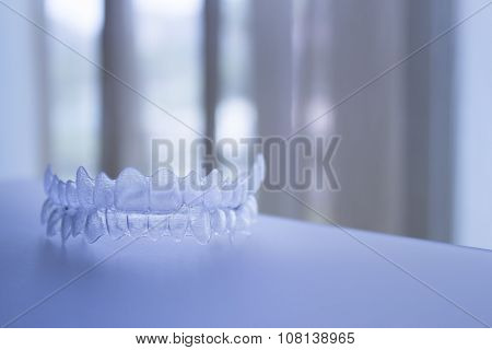 Invisible Dental Teeth Brackets Tooth Plastic Braces