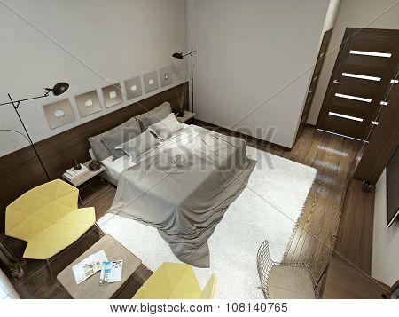 Bedroom Constructivism Style