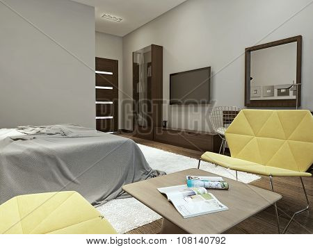 Bedroom Contemporary Style