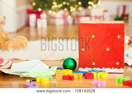Christmas Decorations And Childrens Toys