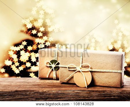 Handmade Gift Boxes With Star Shaped Lights