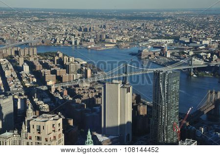 View from One World Trade Center in New York