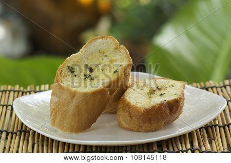 Slice Of Garlic Bread