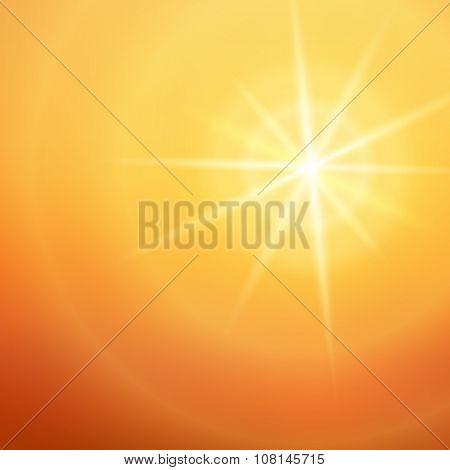 Hot-summer-sun-background-noon-page-magazine