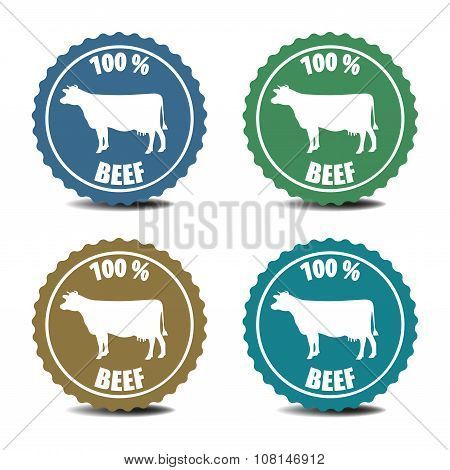 Beef stickers