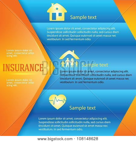 Insurance-background-page-leaflet-advertisement