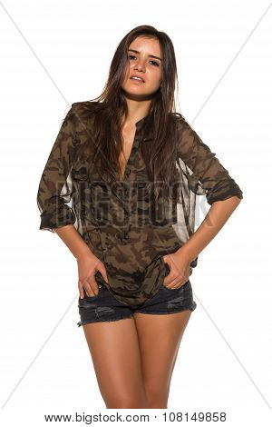 Camouflage And Denim