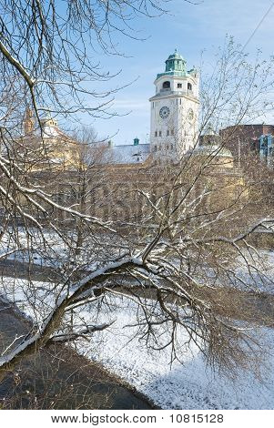 Volksbad In Winter