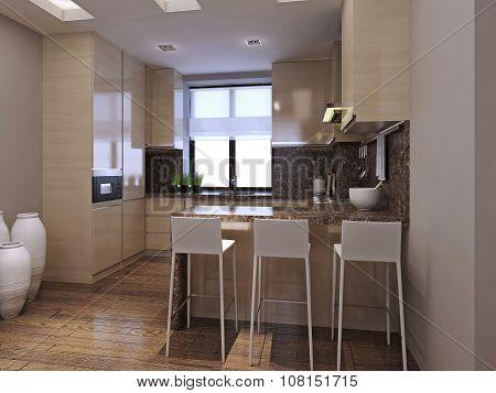Kitchen High-tech Style