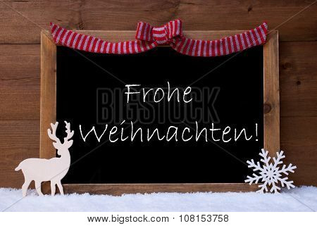 Card, Snowflak, Loop, Frohe Weihnachten Mean Merry Christmas