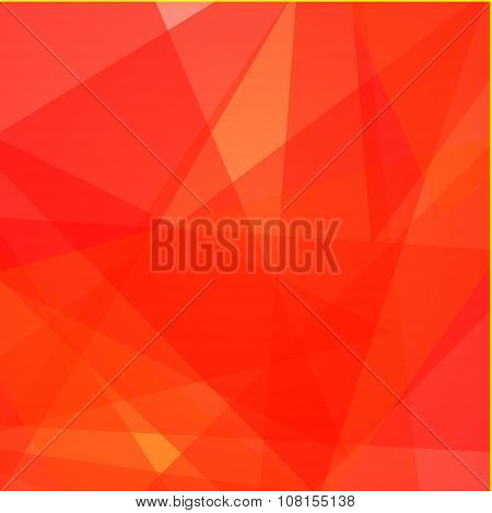 Red Love Abstract Background
