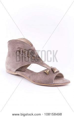 Women's Summer Shoes With Low Heels..