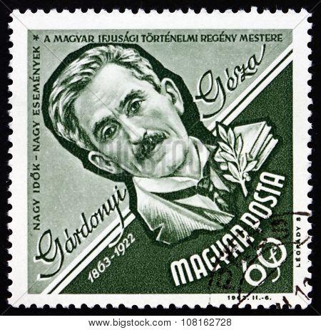 Postage Stamp Hungary 1963 Geza Gardonyi, Writer