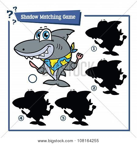 funny shadow shark game