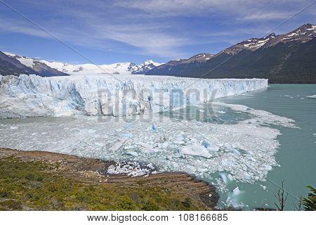 Massive Glacier In The Sun