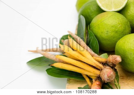 Fingerroot And Lemon