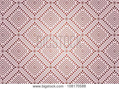 Rhombus A Dash Seamless Pattern