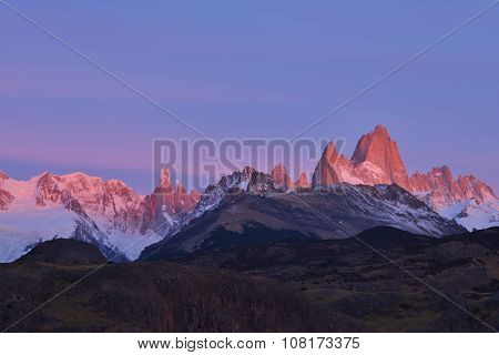 Fitz Roy Mountain Sunrise