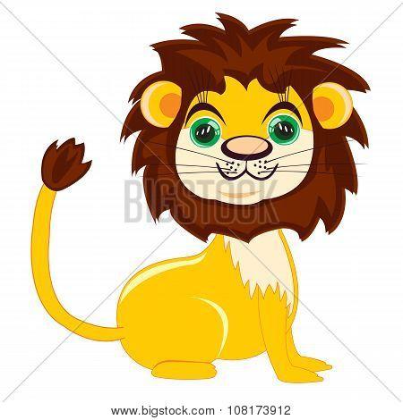 Cartoon Nice Lion