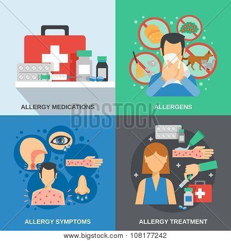 Allergy Flat Set