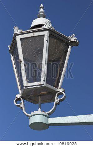 Das Blaues Wunder streetlamp, Dresden