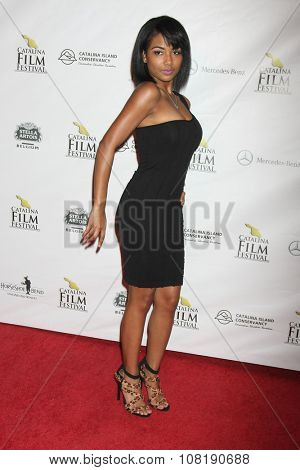 LOS ANGELES - SEP 25:  Scytorya Rhodes at the Catalina Film Festival Friday Evening Gala at the Avalon Theater on September 25, 2015 in Avalon, CA