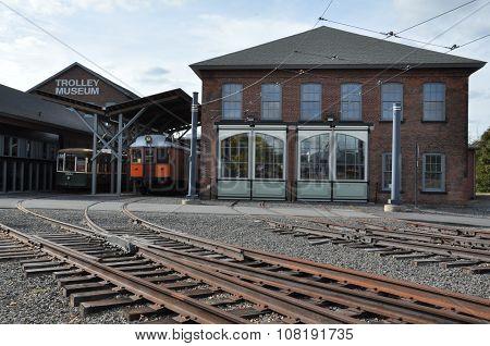 Electric City Trolley Museum in Scranton, Pennsylvania