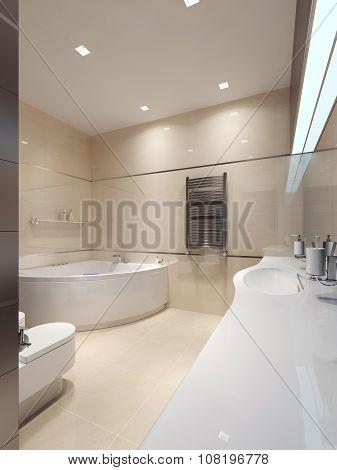 Bathroom Techno Style