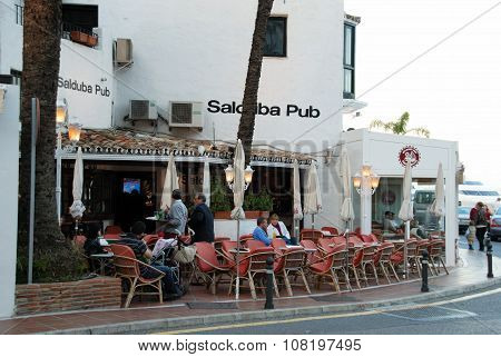 Salduba bar, Puerto Banus