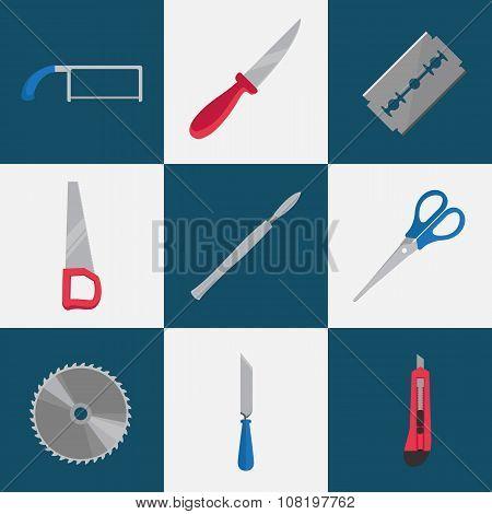 Flat cutting tools