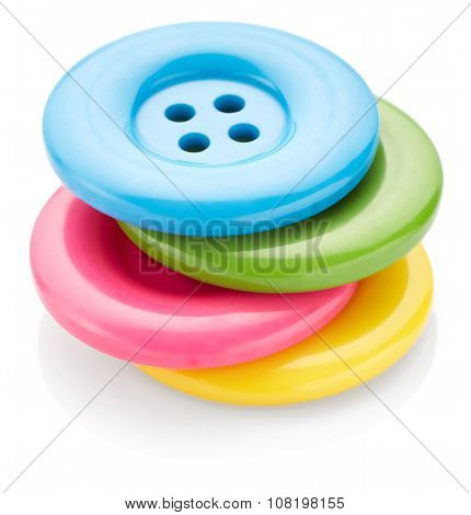 Colored Sewing Buttons