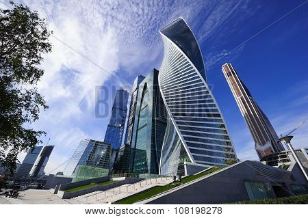 Skyscrapers business offices