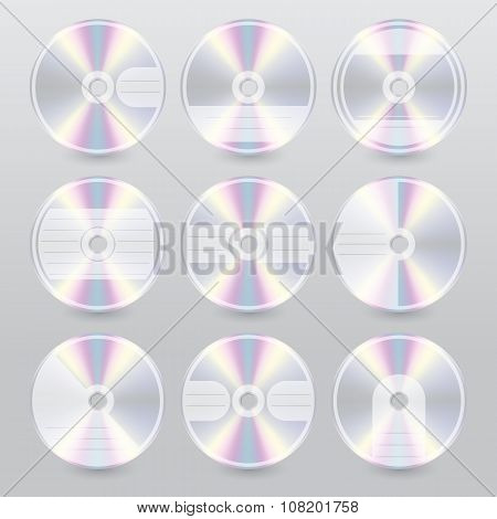 Various Cd Dvd Blu Ray Cover Designs
