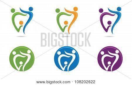 Dental Care Logo Temnplate