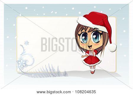 Santa girl (Christmas girl)