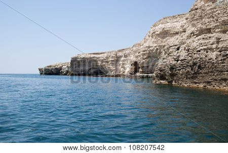 Sea Caves In Tarhankut, Crimea