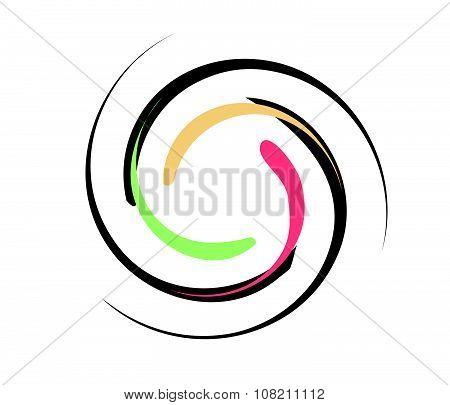 Vortex Background Color