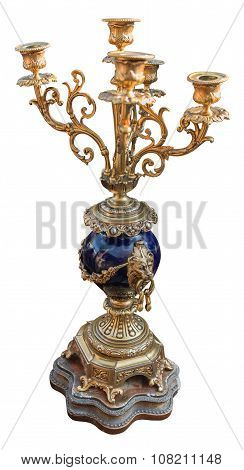 Candlestick Plated Retro