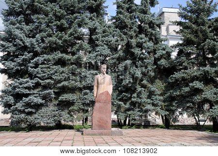 Felix Dzerzhinsky Monument In Penza