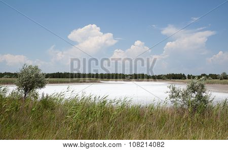 Saline Lake, Kinburn Spit, Ukraine