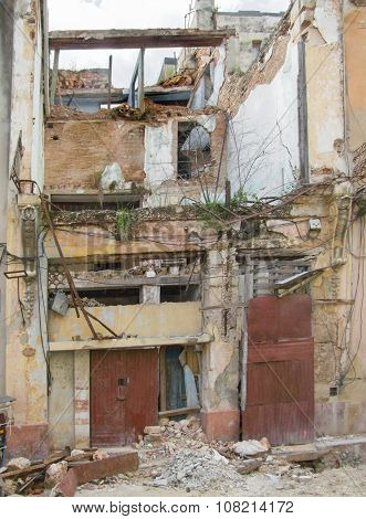 Rundown House In Cuba
