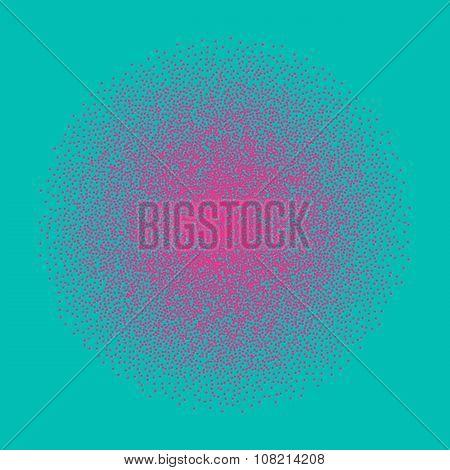Bright confetti background