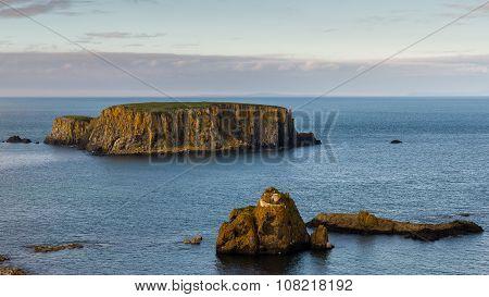 Sheep Island, North Antrim Coast, County Antrim, Northern Ireland
