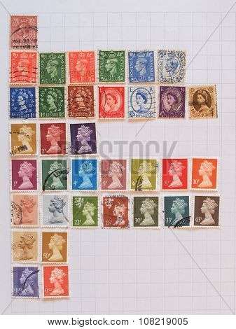 British Mail Stamps