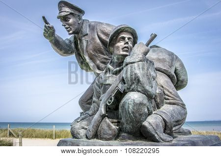 D-day Memorial, Utah Beach, Normandy, France