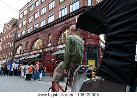 Bike Taxi In London